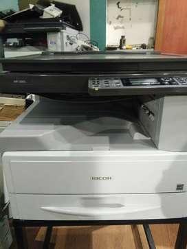 Copier service sales sparer toner