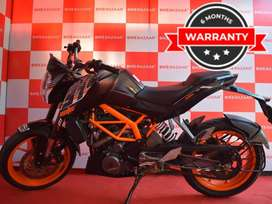 KTM DUKE 390 with Warranty
