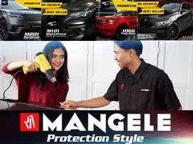 SEMANGAT Stiker Mobil Keren Premium Wrapping Sticker Mewah Juara Rapi