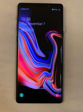 Galaxy Note 9, 128gb, unused, box packed, black colour