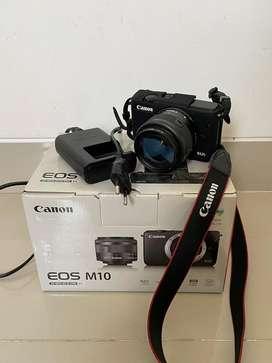 Kamera Mirrorless Canon EOS M10 kamera vlogger