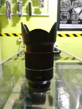 Lensa samyang FE 35mm F1.4 for sony mirorles