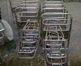 Produksi Trolley stainless steel