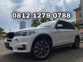 TDP250JT BMW X5 3.5X-Line Bensin 2015 White On Saddle Tan Like New