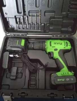 Ryu RCD12V-1 Mesin Bor Baterai Besi Kayu Charger Cordless Drill Bs COD