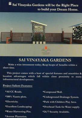 DTCP Approved gated community plos for sale @ timmapur,shamshabad