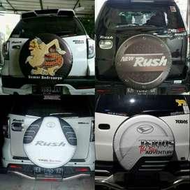 Cover/Sarung Ban Daihatsu Terios/Rush/Vitara/Rocky Bisa custom desain