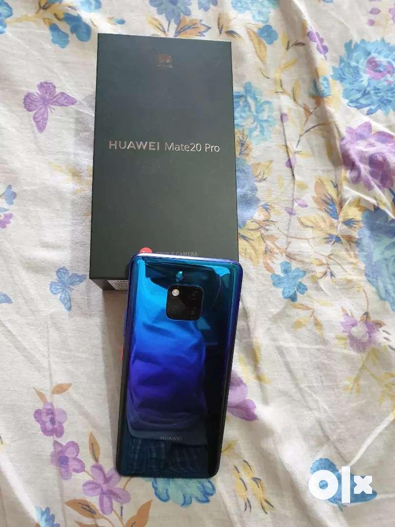 Hawei Mate 20 Pro 6 bd ram 128 gb internal with bill and box. 0