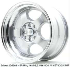 Jual Velg HSR Brisket Ring 16 Untuk Mobil Honda Freed