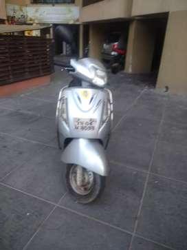 Suzuki access silver 2008model good condition