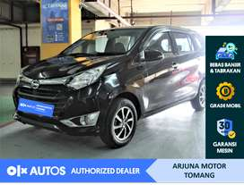 [OLX Autos] Daihatsu Sigra 2017 1.2 R Deluxe M/T Hitam #Arjuna Tomang