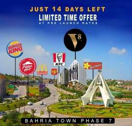 Shop in Bahria Town near Kfc, Mcdonald, Burger King and Green Valley