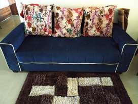 3 seater lounge with storage on sale for 5000