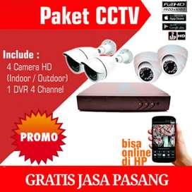 PROMO CCTV GRATIS JASA PASANG BISA PANTAU VIA HP