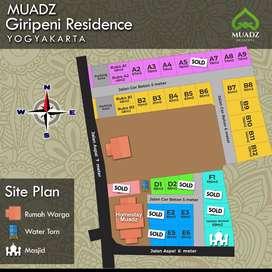 Jual MURAH Tanah Ataupun Ruko Siap Bangun dekat Pasar Wates. SF4153