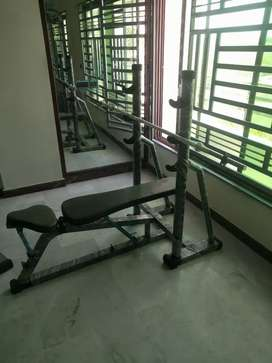 All gym machine available