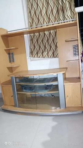 Tv stand cum computer table
