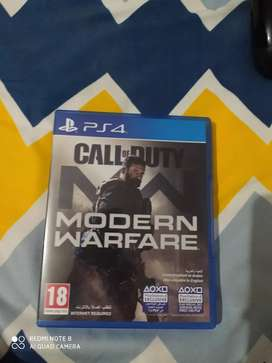 Ps4 call of duty modern warfare