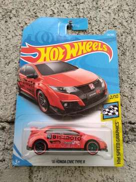 Hotwheels Honda CivicType R