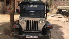 Mahindra Jeep  Modified Black colour