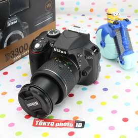 Nikon D3300 lensa kit Unit A (Kode D142)