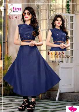 Attractive Cotton Gown