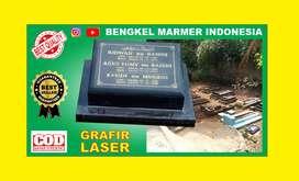 Papan Nama Batu Nisan TPU KEMANG TIMUR Kuburan Makam Granit Marmer Cor
