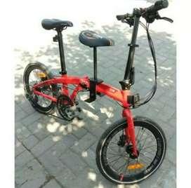 Boncengan Sepeda Lipat Anak tanpa Pegangan
