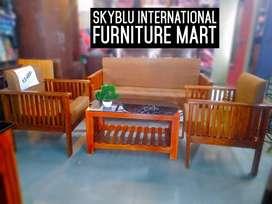 New sofa set 3+1+1