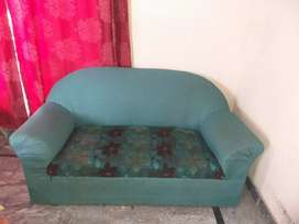 Sofa two seater with molty foam