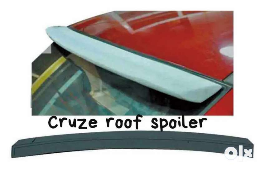 Cruze roof spoiler with 3m tape