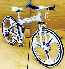 BMW folding with 21 gears high speed cycles available