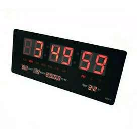 JAM DINDING DIGITAL LED MEJA CLOCK 3615  FITUR KALENDER