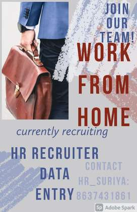 DATA ENTRY AND HR RECRUITER