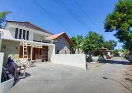 Rumah baru tepi jln aspal kampung di pendowoharjo sewon