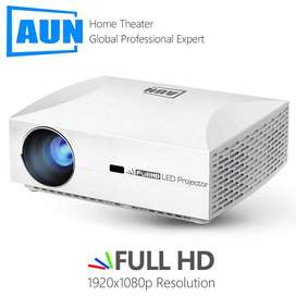 AUN  Full HD Projector  1920x1080 5500 Lumens