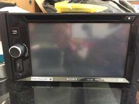 Tv mobil sony xav-w601 dvd car stereo