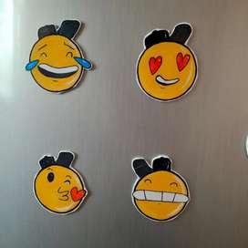 Fridge/ mobile stickers 3d looking