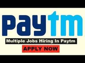 Paytm process job openings for Back Office/KPO/BPO /Telecaller profile
