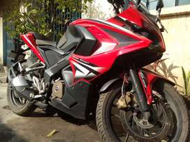 Sports bike.  In new like condition.