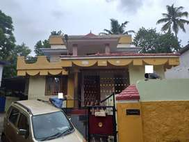 12.5 cent Two storied house near chathannoor junction(900M from NH47)