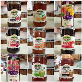 Imported Jam and Honey