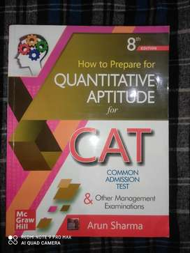 Quantative Aptitude by Arun Sharma for CAT