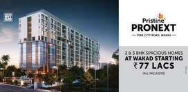 Premium 2 BHK Flat in wakad at 77 lakh(All incl), at Prime location