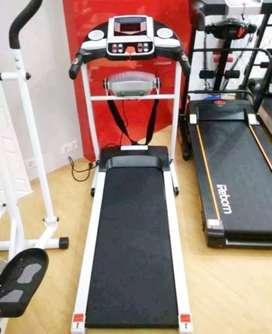 Alat olahraga baru ready stok TREADMIL ELEKTRIK  fungsi
