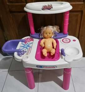 Baby cleanly mainan anak perempuan