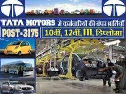 Hiring For TATA MOTORS Company-