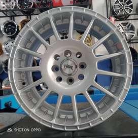 Velg Mobil Brio Ring 15 Arrow Hsr Pcd 4x100/114,3 Silver