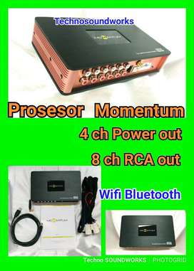 DSP5 Momentum Prosesor 8 ch rca out audio + sound 4ch out power sound