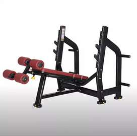 Commercial Adjustable Decline Bench Press - New Gym Equipment